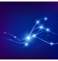 Energy flow background Abstract Futuristic vector image