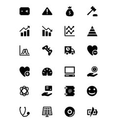 Universal Web and Mobile Icons 11 vector image vector image