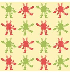 Background dancing snowflakes vector