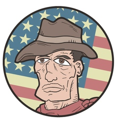 American western expression vector