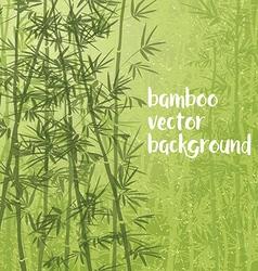 bamboo07 vector image