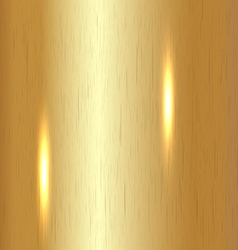 Brushed gold background vector