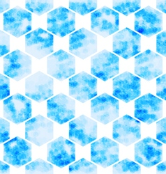 geometric Hexagon abstract technology background vector image