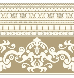Greek ornament seamless pattern vector