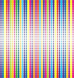 Retro dotted background vector image vector image