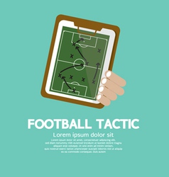 Football Tactic vector image