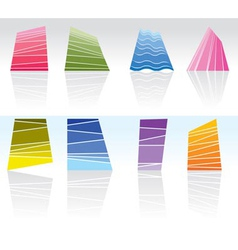 abstract and pattern design vector image vector image