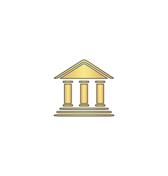 Bank computer symbol vector