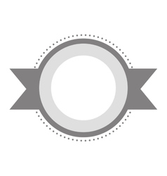 Blank emblem icon image vector