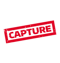 Capture rubber stamp vector