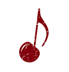 cherry note vector image vector image