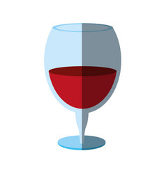 Delicious wine celebration vector