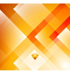 Grometric Orange background vector image