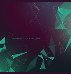 Modern abstract futuristic technology style vector