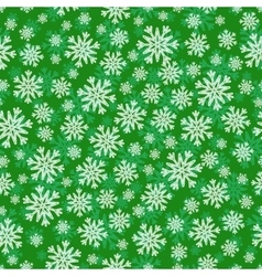 Christmas seamless pattern with white green vector