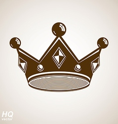 Royal crown icon vector