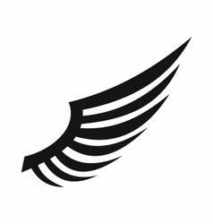 Wing icon simple style vector image vector image