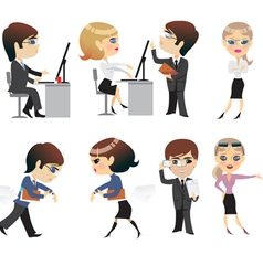 Profession office characters vector
