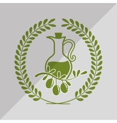 olive oil icon design vector image