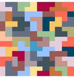 Abstract seamless pattern of geometric colorful vector