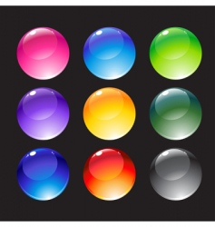 decoration balls vector image