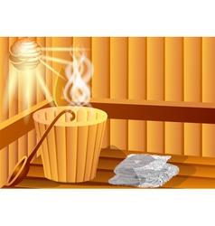 Sauna vector