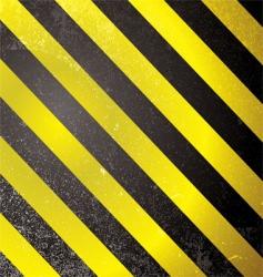 Warning grunge stripe vector