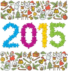 year vector image vector image