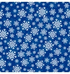Christmas seamless pattern with white blue vector