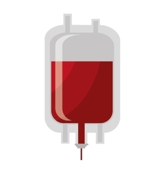 Blood donation theme design isolated icon vector