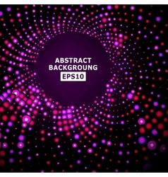 Bright Dotted Background Geometric Flash vector image