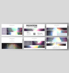 business templates in hd format for presentation vector image