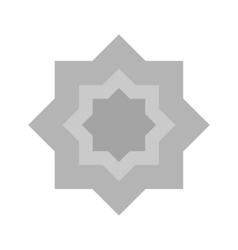 Islamic star vector