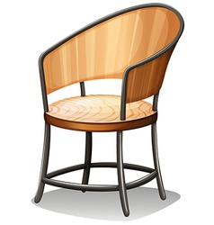 A chair furniture vector