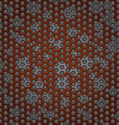 Perforated metal abstract background vector