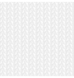 Decorative white seamless texture vector
