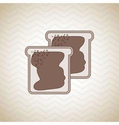 Homemade food design vector