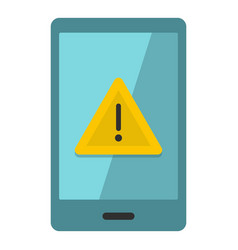 Not working phone icon isolated vector