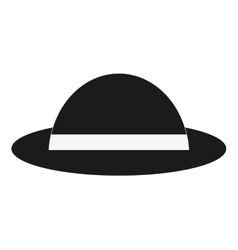 single hat icon vector image vector image