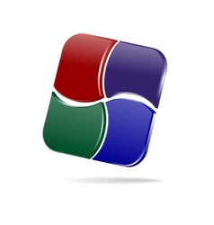 web design element vector image