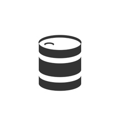 Barrel icon logo element for template vector
