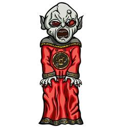 Evil servant vector