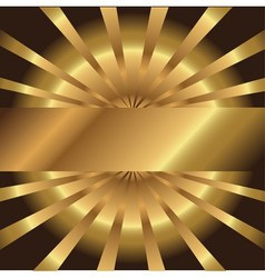Abstract golden background with place for your tex vector