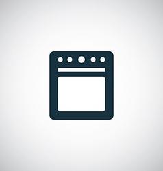 Cooker icon vector