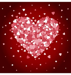 Love heart4 vector image vector image