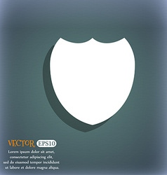Shield sign icon Protection symbol On the vector image