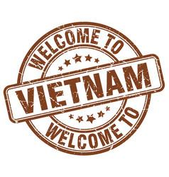 Welcome to vietnam vector