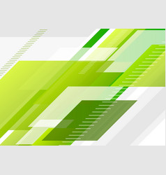 Green tech abstract minimal background vector