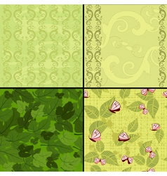 seamless nature vector image