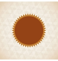 Sun icon design vector